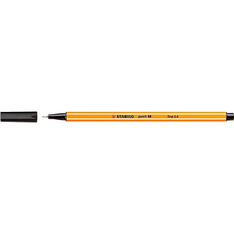 Strichstärke je 5x schwarz blau Farbe 10 Fineliner 0,4mm