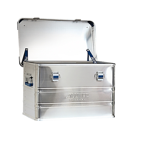 Alutec Aluminiumbox D-Serie 140 l  Transportbox Alubox Alu Box