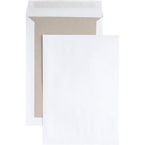 100 x Versandtaschen C4 weiß Umschlag für A4 *3*  Haftklebung haftklebend