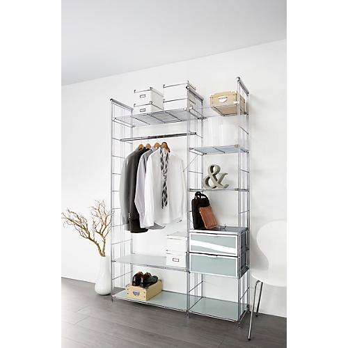chromregal balton b iii regalleiter g nstig kaufen sch fer shop. Black Bedroom Furniture Sets. Home Design Ideas