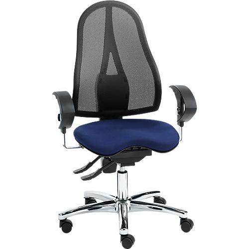 topstar b rostuhl sitness 15 mit armlehnen orthositz netz optik g nstig kaufen sch fer shop. Black Bedroom Furniture Sets. Home Design Ideas