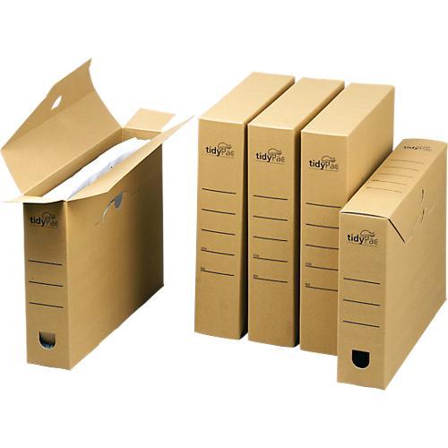 tidypac archivbox karton mit deckel 25 st ck g nstig kaufen sch fer shop. Black Bedroom Furniture Sets. Home Design Ideas