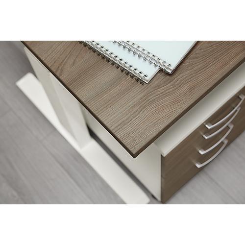 Schreibtisch Elektrisch Fur 2 Personen Nebeneinander: Schreibtisch NEVADA, Einstufig Elektrisch Höhenverstellbar