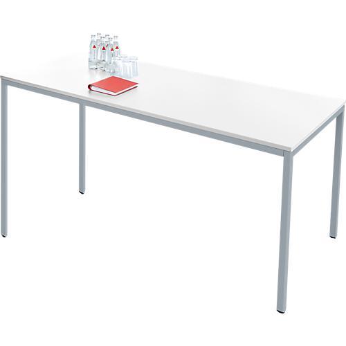 stahlrohr tisch 1600 x 800 mm g nstig kaufen sch fer shop. Black Bedroom Furniture Sets. Home Design Ideas