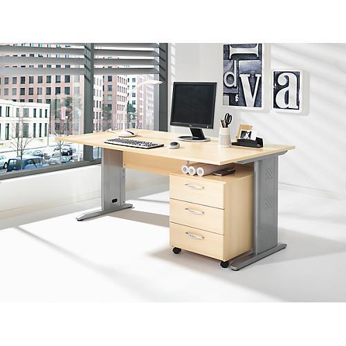 komplettset schreibtisch und rollcontainer baralonis c fu container 3 sch be g nstig kaufen. Black Bedroom Furniture Sets. Home Design Ideas