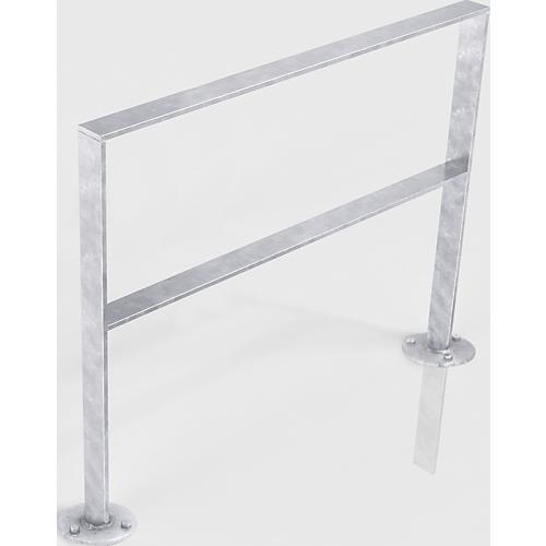 anlehnb gel serie 9800 mit knierohr verzinkt g nstig kaufen sch fer shop. Black Bedroom Furniture Sets. Home Design Ideas