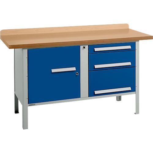 universelle profi werkbank pw 150 7 g nstig kaufen sch fer shop. Black Bedroom Furniture Sets. Home Design Ideas
