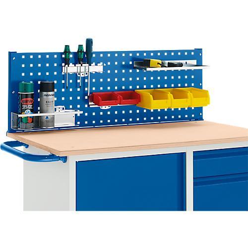 werkbank mit schrank 4 schublade und multiwand lochmodulplatte g nstig kaufen sch fer shop. Black Bedroom Furniture Sets. Home Design Ideas