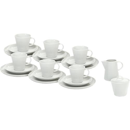 kaffeegeschirr solea uni wei porzellan 20 teilig g nstig kaufen sch fer shop. Black Bedroom Furniture Sets. Home Design Ideas