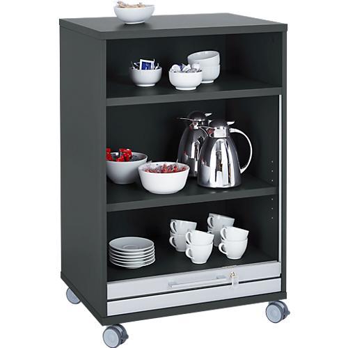 mobiler catering schrank mit rollladen b 650 x t 480 x h. Black Bedroom Furniture Sets. Home Design Ideas