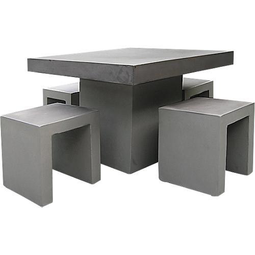 best kleine sitzgruppe rockall wetterfest betonoptik. Black Bedroom Furniture Sets. Home Design Ideas