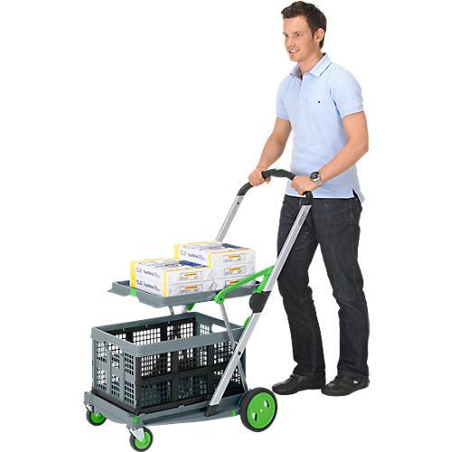chariot pliable clax acheter bon march sch fer shop. Black Bedroom Furniture Sets. Home Design Ideas