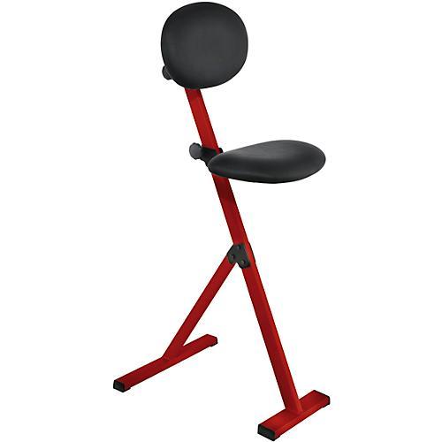 tabouret haut pliable structure col rouge acheter bon. Black Bedroom Furniture Sets. Home Design Ideas