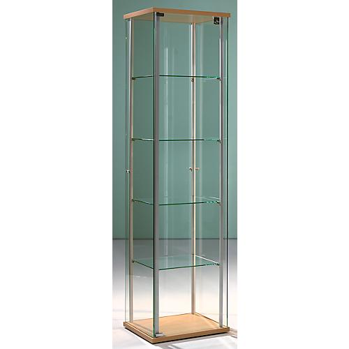 stand pr sentationsvitrine forum i b 430 x t 430 x h 1720 mm g nstig kaufen sch fer shop. Black Bedroom Furniture Sets. Home Design Ideas