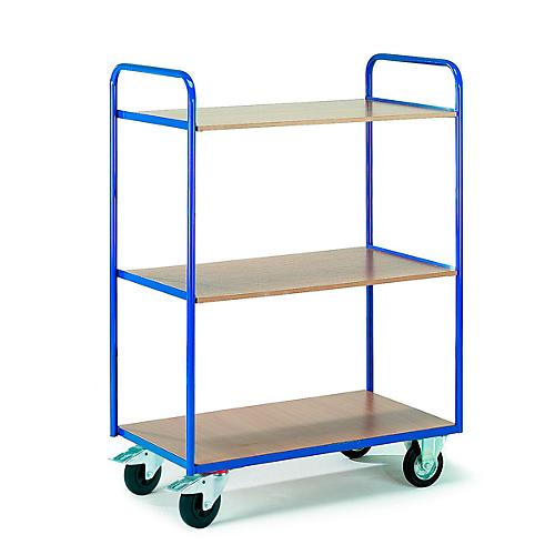 etagenwagen mit 3 b den 1000 x 600 mm g nstig kaufen. Black Bedroom Furniture Sets. Home Design Ideas