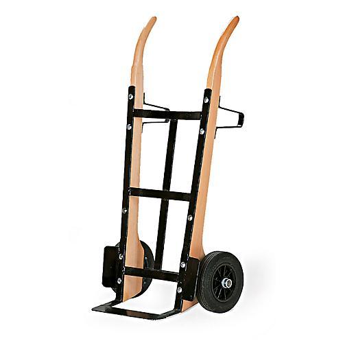 sackkarre aus holz mit flachstahlschaufel tragkraft 250 kg luft bereifung g nstig kaufen. Black Bedroom Furniture Sets. Home Design Ideas