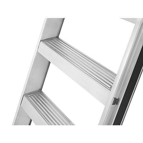 hailo anlege leiter profiline a 225 7 bis 12 stufen extrem belastbar bis 225 kg g nstig. Black Bedroom Furniture Sets. Home Design Ideas