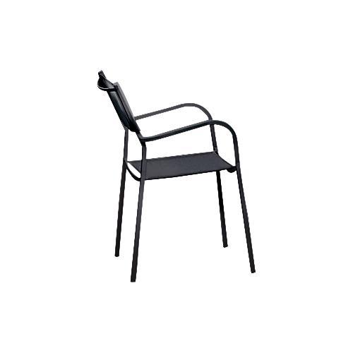 jan kurtz armlehnstuhl york wetterfest pulverbeschichteter stahlrohrrahmen g nstig kaufen. Black Bedroom Furniture Sets. Home Design Ideas