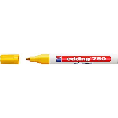 2 Stück rot edding Permanent Marker 330  mit Keilspitze 2mm 5mm Filzstift #