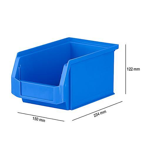 /%/%/% B-WARE /%/% Sichtlagerkasten LF 531 weiß 5 St Schäfer Lagerkasten Kunststoff