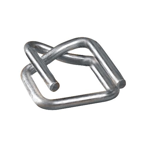 1000 x Galvanisé Boucles métalliques 13mm//16mm//19mm
