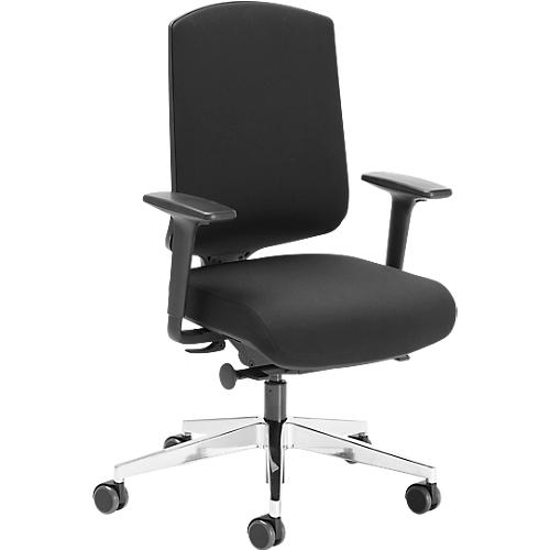 Onderplaat Voor Bureaustoel.Air Seat Bureaustoel Synchroonmechanisme Met Luchtkussen Met Armleuningen Zwart