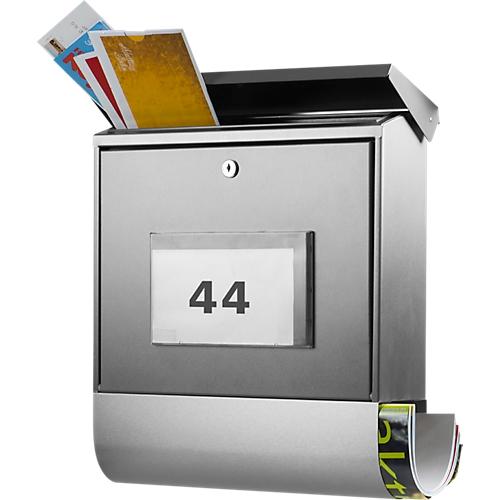 Burg Wächter Briefkasten Malaga, Zeitungsbox, beleuchtete Hausnummer ...