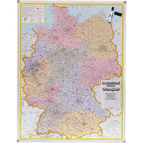 Carte Allemagne Code Postaux.Carte Allemagne Codes Postaux Tableau Magnetique