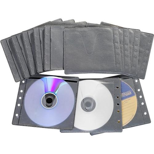 cd dvd vliestaschen abheftbar universal lochung g nstig kaufen sch fer shop. Black Bedroom Furniture Sets. Home Design Ideas