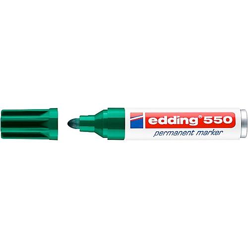 3-4 mm grün edding 550 Permanentmarker nachfüllbar