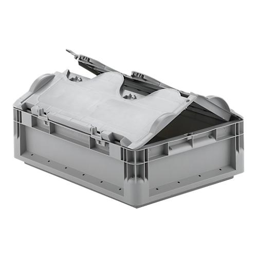 euro box leichtbeh lter elb 4120 aus pp inhalt 10 9 l mit o ohne deckel g nstig kaufen. Black Bedroom Furniture Sets. Home Design Ideas