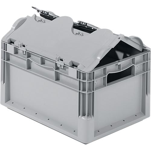 euro box leichtbeh lter elb 4220 aus pp inhalt 20 4 l mit o ohne deckel g nstig kaufen. Black Bedroom Furniture Sets. Home Design Ideas