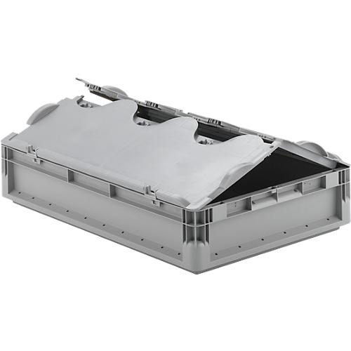 euro box leichtbeh lter elb 6120 aus pp inhalt 23 3 l mit o ohne deckel g nstig kaufen. Black Bedroom Furniture Sets. Home Design Ideas