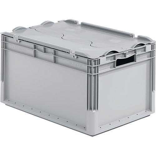 euro box leichtbeh lter elb 6320 aus pp inhalt 64 l mit o ohne deckel g nstig kaufen. Black Bedroom Furniture Sets. Home Design Ideas