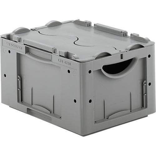 euro box serie ltb 4220 aus pp inhalt 19 8 l mit o ohne deckel g nstig kaufen sch fer shop. Black Bedroom Furniture Sets. Home Design Ideas
