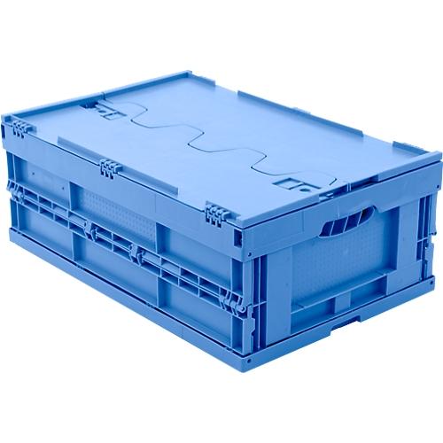 euro ma faltbox 6422 ng dl mit deckel f r lager und mehrwegtransport 41 4 liter g nstig. Black Bedroom Furniture Sets. Home Design Ideas