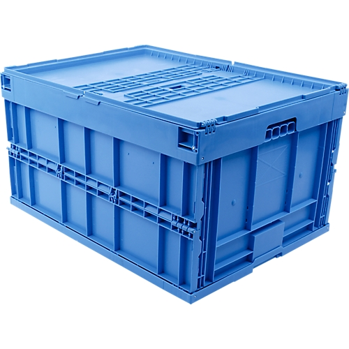 euro ma faltbox 8645 ds mit deckel f r lager und mehrwegtransport 171 2 liter g nstig. Black Bedroom Furniture Sets. Home Design Ideas