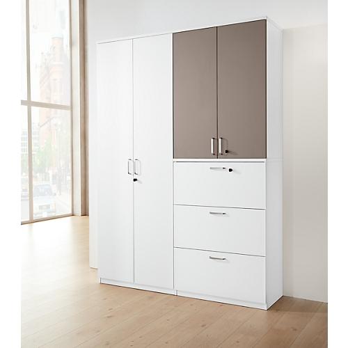 fl gelt renschrank bexxstar 2 bis 6 ordnerh hen holzt ren b 800 x t 445 mm g nstig kaufen. Black Bedroom Furniture Sets. Home Design Ideas