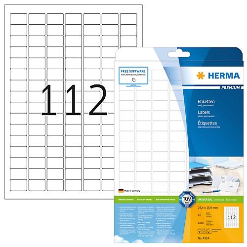 Größe 25 Blatt DIN A4 52,5x29,6 1000 Etiketten