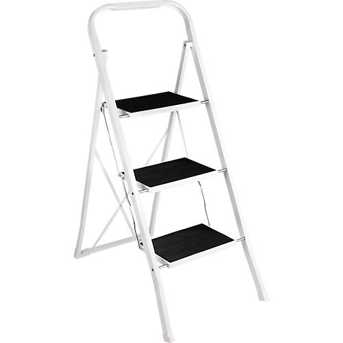 klapptritt aus stahl belastbar bis 150 kg mit 2 3 oder 4 stufen g nstig kaufen sch fer shop. Black Bedroom Furniture Sets. Home Design Ideas