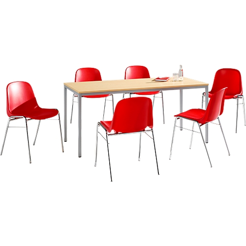 Komplettangebot tisch ahorn 6 formenschalst hle beta for Tisch ahorn