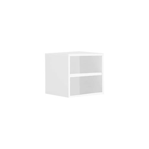 Kubusvormige Open Kast Wit
