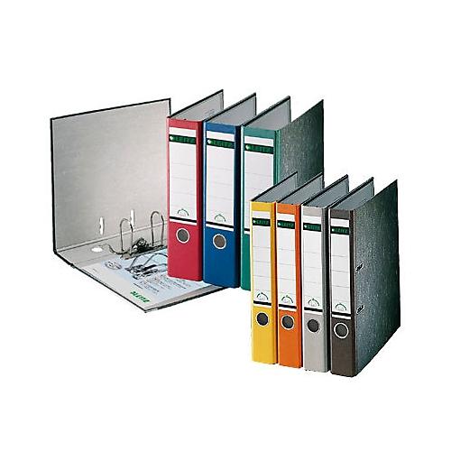 a5e7258ff7243a LEITZ® Karton-Ordner, A4, Rückenbreite 80 mm, rot
