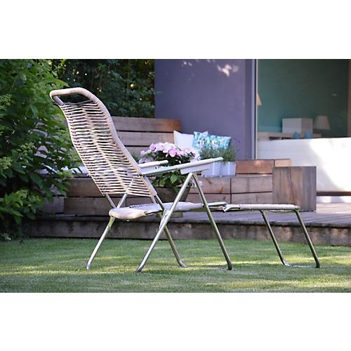 liegestuhl sessel spaghetti retro look g nstig kaufen. Black Bedroom Furniture Sets. Home Design Ideas