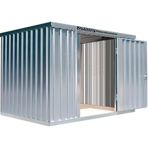 Materialcontainer MC 1300, Verzinkt, Zerlegt Günstig