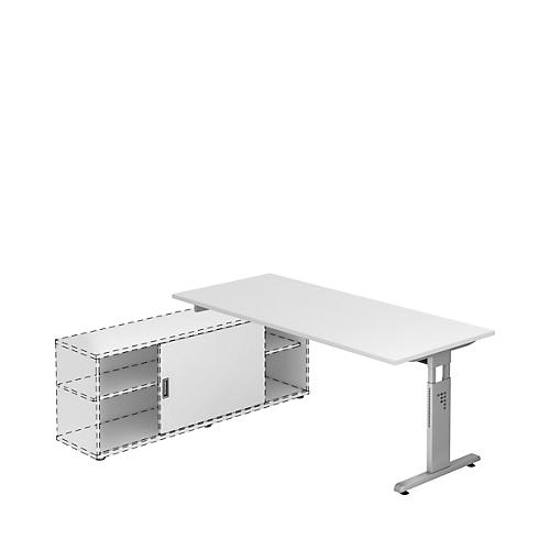 schreibtisch mit sideboard g nstig kaufen sch fer shop. Black Bedroom Furniture Sets. Home Design Ideas
