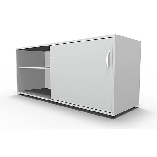 Sideboard Mit Schiebetur Abschliessbar Spanplatte B 1600 X T 500
