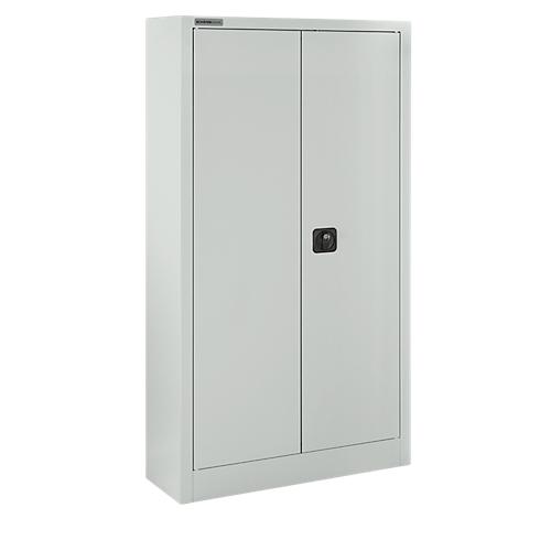Büroschrank abschließbar  SSI Schäfer Aktenschrank, abschließbar, Höhe 1585 mm, Breite 800 mm,  lichtgrau