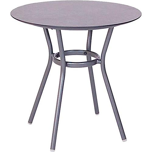 Stern Tisch Space O 68 Cm Aluminiumgestell Tischplatte Silverstar