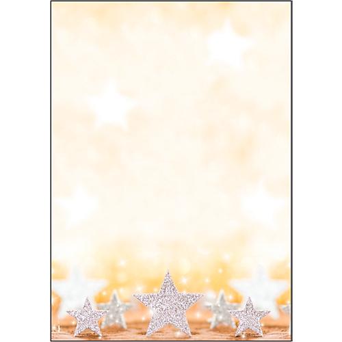 weihnachts motiv papier glitter stars din a4 100 blatt. Black Bedroom Furniture Sets. Home Design Ideas